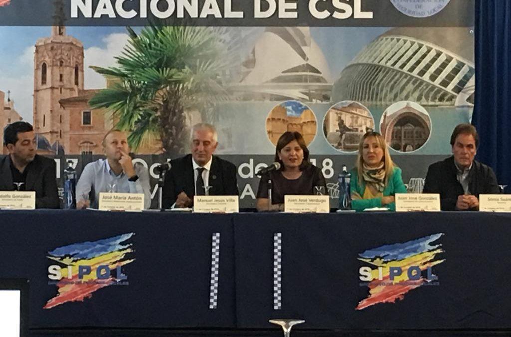 XL Congreso Nacional de la Confederación de Seguridad Local en Valencia
